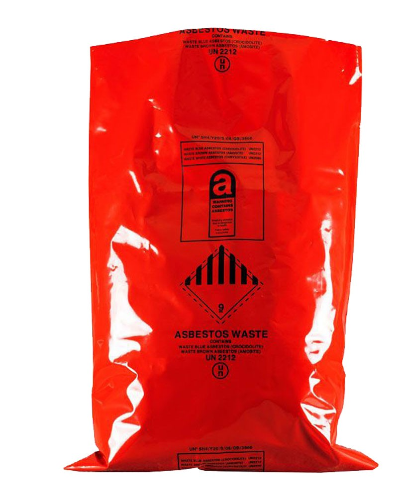 "Asbestos Removal Sack / Bag 900MM X 1200MM (36"" x 48"") (Pack of 50)"