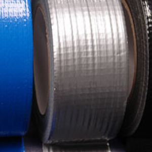 "Cloth Tape Adhesive Silver 3"" x 45m"