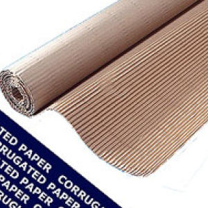 Corrugated Paper Roll 1200mm X 75m Floor Protection