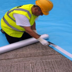Damp Proof Membrane DPM Polythene Sheeting Blue