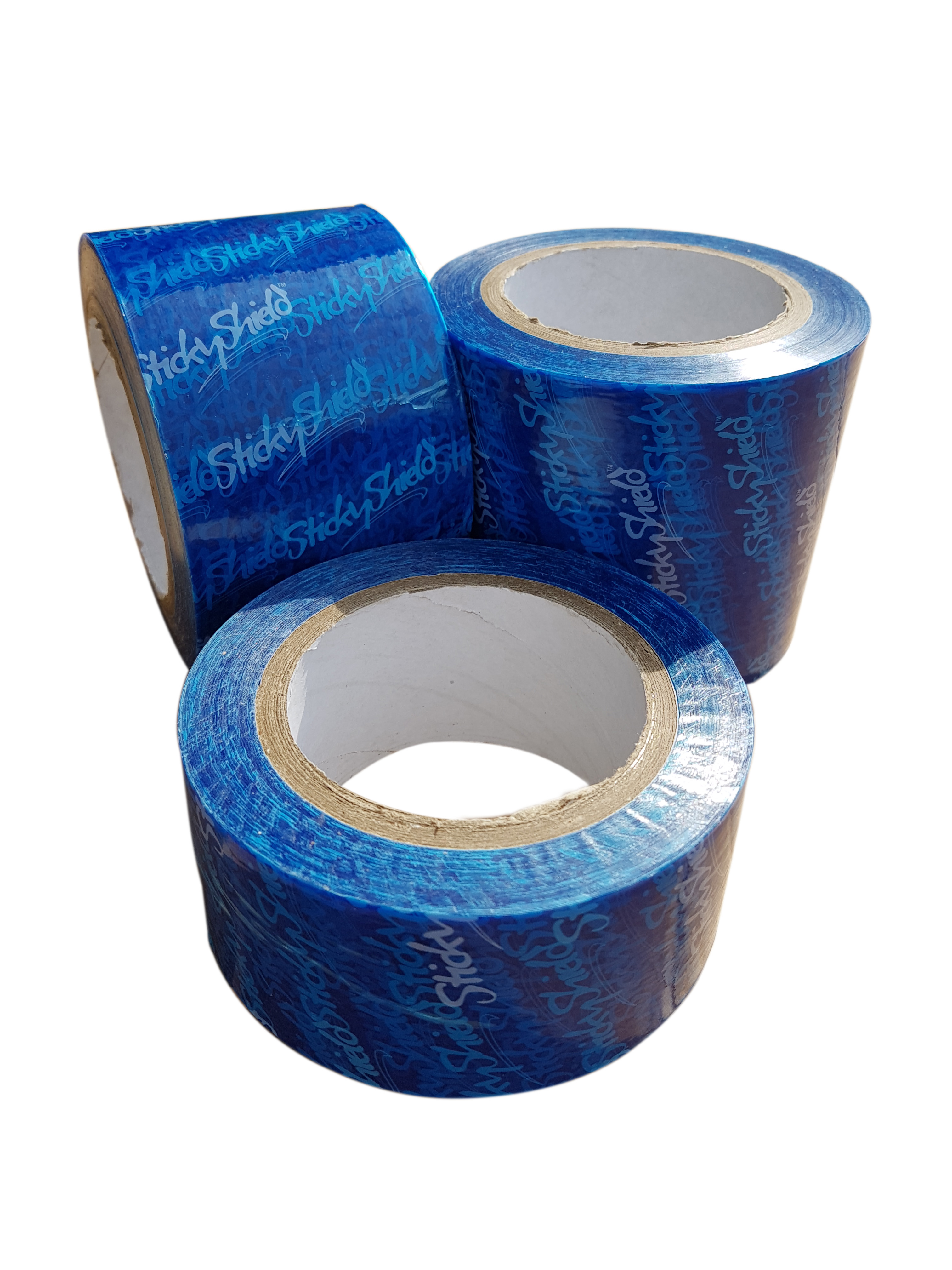 Sticky Shield® Peelable Low Tack Surface Protection Tape Blue 50mm x 100m