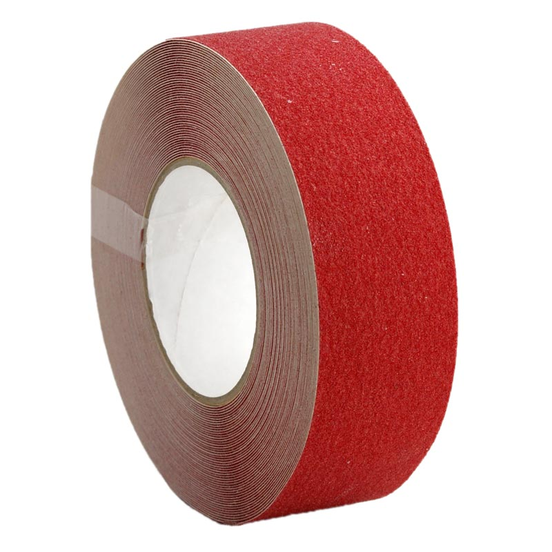 Anti Slip Non Skid Tape Self Adhesive Red 100mm x 18m