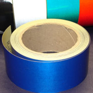 Reflective Tape Self Adhesive Blue 50mm x 10m