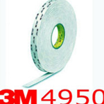 3M® 4950 VHB Double Sided Acrylic Foam Tape 19mm x 1mm x 33m