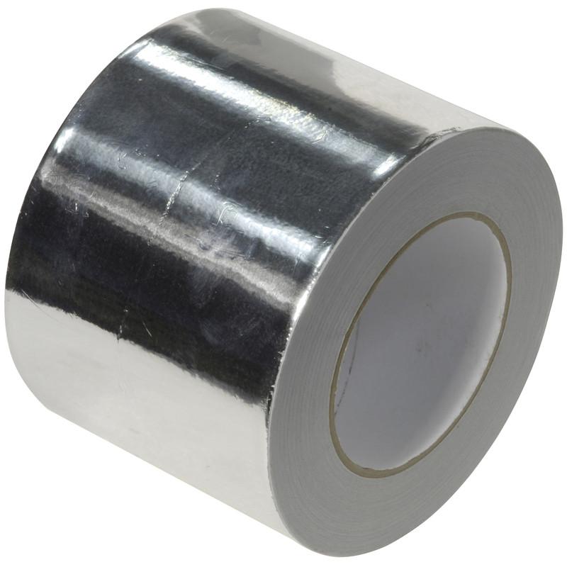 Heat Resistant Aluminium Foil Tape 72mm x 45m