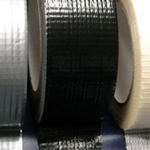 "Cloth / Gaffa / Gaffer Tape Adhesive Black 1"" x 45m"