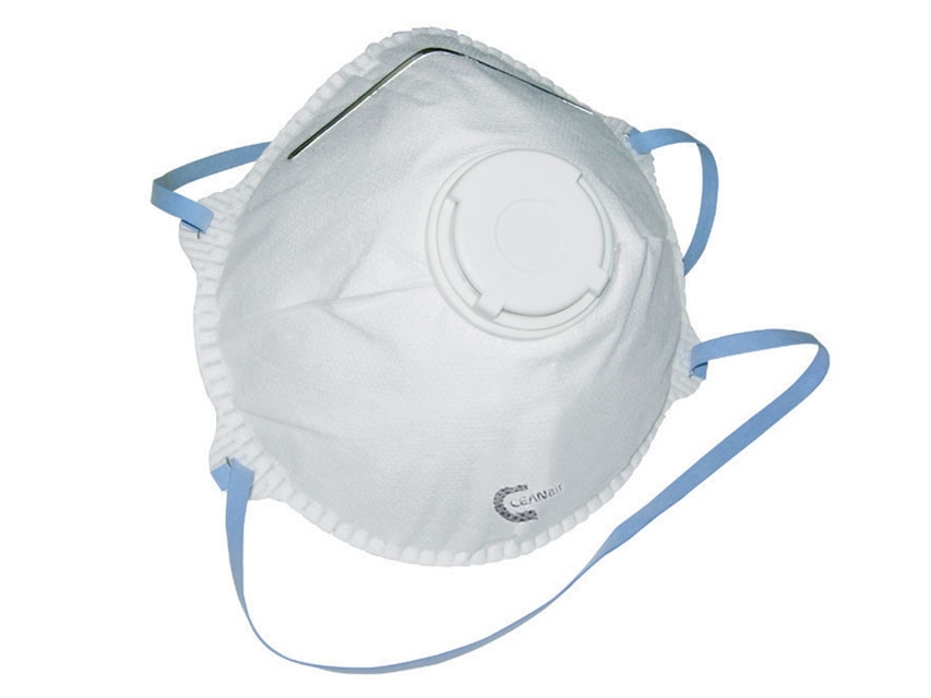 FFP2 P2 Valved Virus Mask Respirator 5 Masks