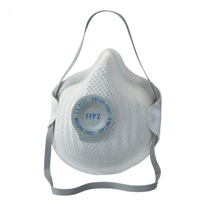 Flu Virus N95 Valved Particulate Respirator (DRP2V) FFP2 (5 Face Masks)