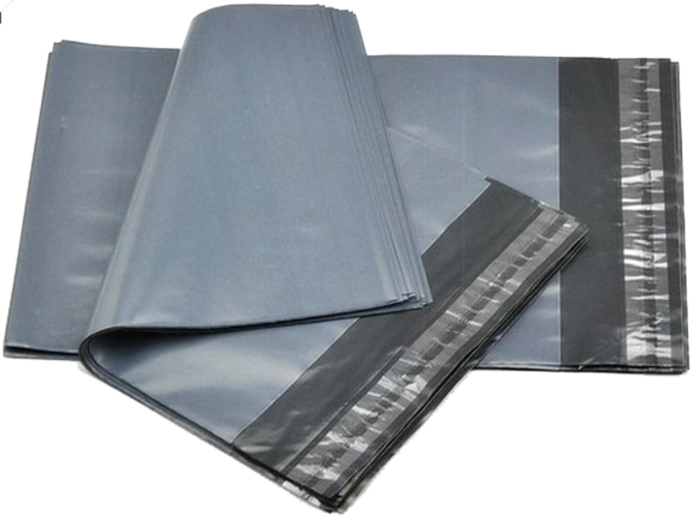 Grey Polythene Mailers 550mm x 750mm