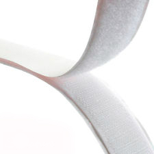 Rip 'n' Grip Tape HOOK White High Tack Rubber Adhesive 30mm x 25m