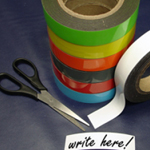 Magnetic Label Tape Green 25mm x 10m