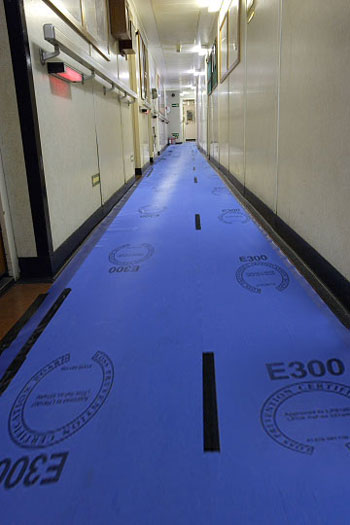 Visqueen Megafilm Temporary Floor & Carpet Protection