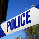 Police Barrier Tape Blue & White 75mm x 250m