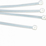 Releasable Cable Ties (Pack of 100) Clear 7.6mm x 250mm