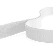 Rip 'n' Grip Tape LOOP White Sew-on 20mm x 25m