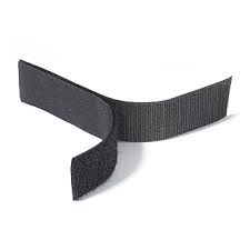 Rip 'n' Grip Tape LOOP Black Sew-on 20mm x 25m
