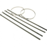 Stainless Steel Cable Ties (Pack of 100) 4.6mm x 125mm