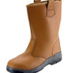 Tan Safety Rigger Boot Size 9