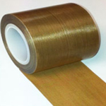 Teflon PTFE Glass Coated Cloth High Temperature Non Stick Tape 100mm x 0.13mm x 10m